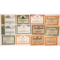 Movie Equipment Company Stock Certificates  (126979)