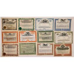 Radio & Advertising Stock Certificates  (126561)
