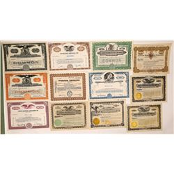 Radio & Television Broadcast Company Stock Certificates  (126981)