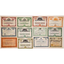 Radio Company Stock Certificates (26)  (126562)