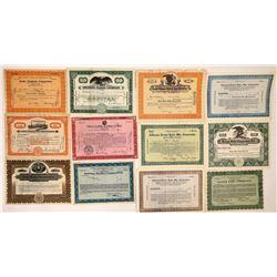 Several (20) Radio Company Stock Certs  (126971)