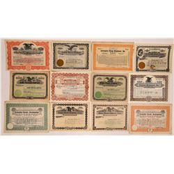Theatre Company Stock Certificates: Eastern US  (126349)