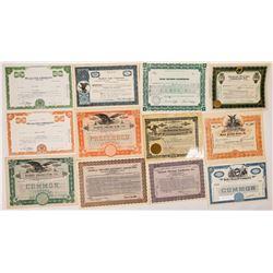 Television & Radio Equipment Stock Certificates-20  (126982)