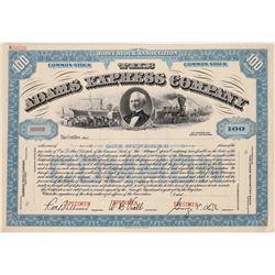 Adams Express Company Specimen Stock Certificate  (126076)
