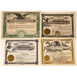 Firearms, Trapshooting, and Knife Companies Stock Certificates  (127122)