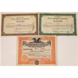 Munitions Stock Certificates 1918  (123509)