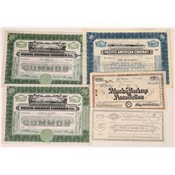 Alaska Fishing Stock Certificates  (109285)