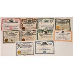 Food Equipment Company Stock Certificates  (109134)