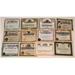 Food Manufacturing Stock Certificate Group  (109132)