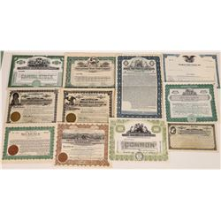 Food Manufacturing Stock Certificate Group   (109131)