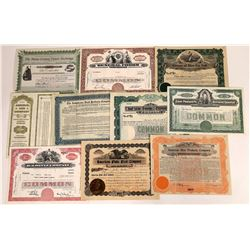 Food Products Stock Certificate Collection  (109139)