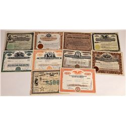 Food Products Stock Certificates  (109138)