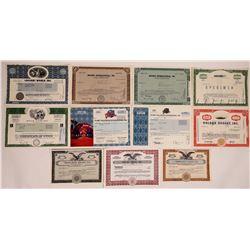 Las Vegas Gaming Companies Stock Certificate Group  (126352)