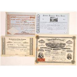 Bridge Companies Stock Group, pre-1870  (127031)
