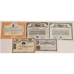 US Sewing Company Stock Certificate Group  (109300)