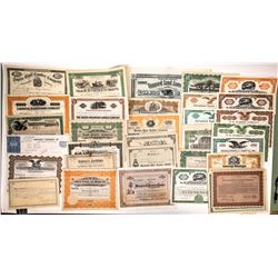 Lumber Companies Stock Collection, Eastern States and International (38)  (122849)