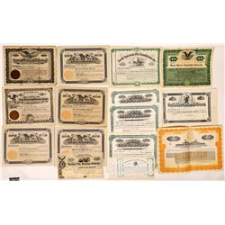 Fire Related Business' Certificate Collection (13)  (126789)