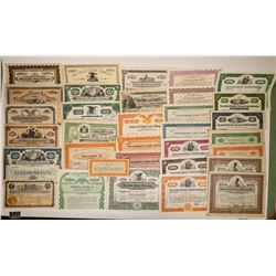 Glass Company Certificate Collection (30)  (127041)