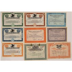 Lighting stock Certificate Collection`  (126942)