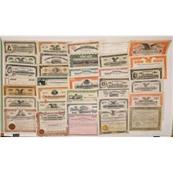 Manufacturing Stock Certificate Collection  (126939)
