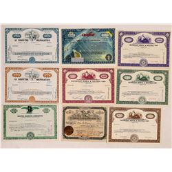 Modern Science and Medical Stock Certificate Collection  (126941)