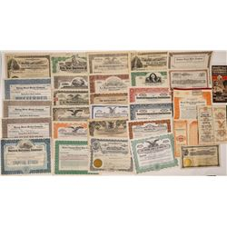 Southern California Company stock Certificate Collection  (126946)