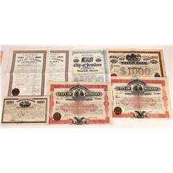 Group of New York State Bonds  (109253)