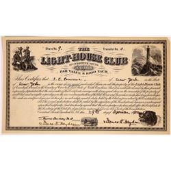Light-House Club of Currituck Sound Stock Certificate  (126360)