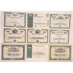 Computer & Calculator Company Stock Certificates  (126252)