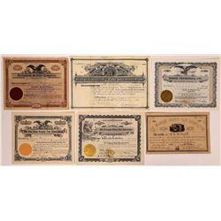 Fair Stock Certificates & Bonds: Midwest US  (126334)