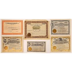 Fair Stock Certificates: Eastern and Western US  (126333)