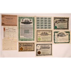 Fraternal Groups & Societies Stock Certificates  (126358)