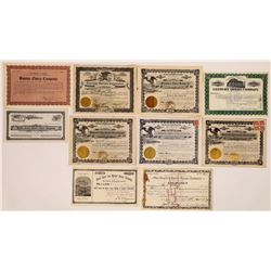 Opera Stock Certificate Collection  (126338)