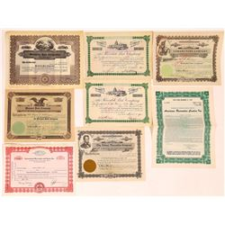 Parks & Recreation Related Stock Certificate Group  (126301)