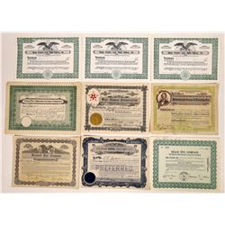 Toy Company Stock Certificate Collection  (126335)