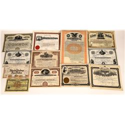 Stock Certificate & Bond Grab Bag  (126082)