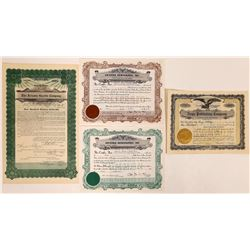 Arizona Printing & Publishing Stock Certificates  (126259)