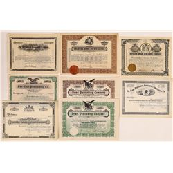 New Jersey Printing & Publishing Stock Certificates  (126266)