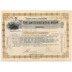 The United States Book Company Stock Certificate  (126271)