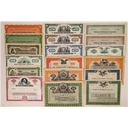 New York Printing & Publishing Stock Certificate Collection  (126264)