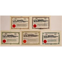 International Educational Publishing Co. Stock Certificates  (126285)