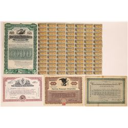 """American"" Printing & Publishing Stock Certificates  (126282)"