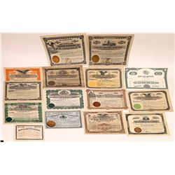 Midwest Printing & Publishing Stock Certificate Collection  (126291)