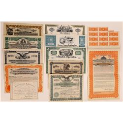 Miscellaneous Printing & Publishing Stock Certificates  (126286)