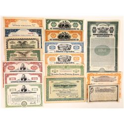 Miscellaneous Printing & Publishing Stock Certificates  (126284)