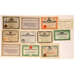 Printing Equipment Company Stock Certificates  (126294)