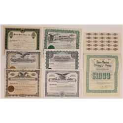 Southern States Printing & Publishing Stock Certificates  (126288)