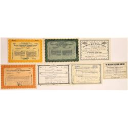Mexico Telegraph & Telephone Stock Certificates  (126441)