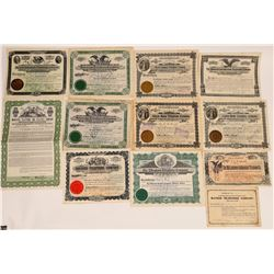 Illinois Regional Telephone & Telegraph Stock Certificates  (126369)