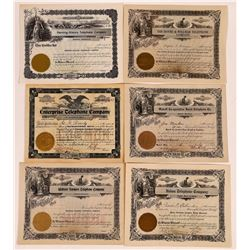 Minnesota Regional Telephone & Telegraph Stock Certificates  (126381)